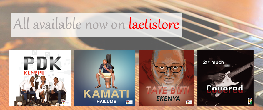 New Albums now available on laetistore